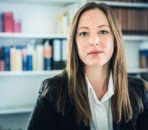 Porträt von Anwältin Spürk